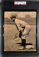 1934 R310 Butterfinger Lou Gehrig Graded PSA Authentic/Altered (Trimmed)