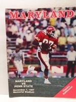 University of Maryland football program: Nov. 1987 Maryland vs Penn State