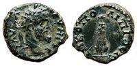 *AET* NICOPOLIS AD ISTRUM (Moesia Inferior) AE16. Septimius Severus. EF. Club.