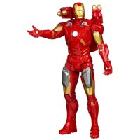 ULTIMATE ELECTRONIC AVENGER IRON MAN ELECTRONIC ACTION FIGURE 10 INCHES TALL