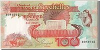 100 Rupees 1989 Seychelles Banknote, Km:35