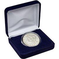 Morgan Silver Dollar (Fine - Extra Fine) Coin in Velvet Gift Box