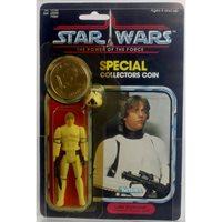 Vintage Star Wars POTF Carded Luke (Stormtrooper) Action FIgure AFA 75 Y-EX/NM #11083617