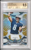 Marcus Mariota 2015 Topps Finest Gold Refractor #/150 Rookie RC *POP 8* BGS 9.5