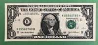 Tough run 2003A $1 K05560780H CHCU, only 6.4 million notes printed for KH block!