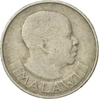 Coin, Malawi, 6 Pence, 1967, EF(40-45), Copper-Nickel-Zinc, KM:1