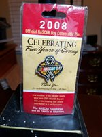 2008 NASCAR Day collectible Pin. New in package!