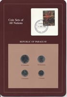 COIN SETS OF ALL NATIONS Complete REPUBLIC OF PARAGUAY