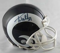 Aqib Talib autographed signed mini helmet Los Angeles Rams PSA COA