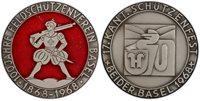 SWITZ Basel Canton 1968 AR Medal PCGS SP64 Matte Richter-unlisted Rifle Festival