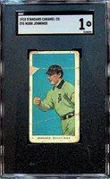 1910 E93 Standard Caramel Hugh Jennings - SGC 1