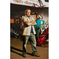 "Rick Dale - signed 6x4 photograph showing him in "" Ricks Restorations "". Rick Dale"