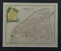 Der Provinz Westergo vier nördliche Grietenyen mit der Stadt Fra...