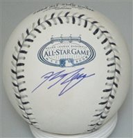 RYAN BRAUN SIGNED MLB 2008 ALL STAR GAME LOGO BASEBALL - JSA