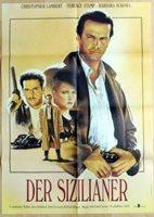 Lambert THE SICILIAN original vintage 1 sheet East German movie poster 1989