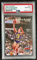 1992 SkyBox John Stockton USA Basketball #83 Utah Jazz PSA 10 GEM MT
