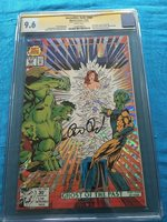 Incredible Hulk #400 - Marvel - CGC SS 9.6 NM+ - Signed by Peter David