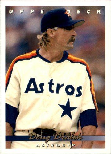 1993 Upper Deck Baseball Card 664 Doug Drabek