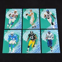 (x6) 1997 Flair Wave of the Future Insert Lot
