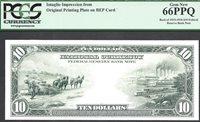 $10 1915-1918 FRBN REVERSE INTAGLIO PCGS Gem New 66 PPQ