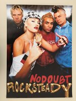 NO DOUBT, AUTHENTIC 2002 POSTER