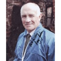 JACKSON Barry Midsomer Murders Signed Photo 532F UACC COA