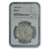 1880-O $1 Morgan Dollar NGC MS64 PQ+