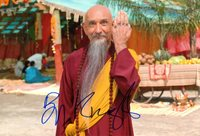 Ben Kingsley photo w/reproduction signature archival quality 001