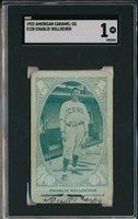 1922 E120 AMERICAN CARAMEL CO. - CHARLIE HOLLOCHER - SGC 1 PR (SVSC)