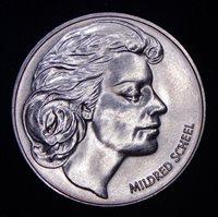GEM BU Germany 1979 Mildred Scheel Deutsche Krebshilfe Cancer Aid Token Coin!