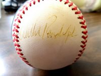 WILLIE RANDOLPH Signed Autographed Official American League Baseball