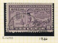 United States 1927-51 Early Special Deliverry issue Fine Used 10c. 315654