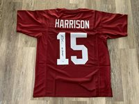 Ronnie Harrison autographed inscribed jersey NCAA Alabama Crimson Tide PSA COA