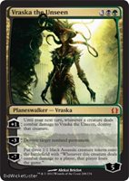 Vraska the Unseen (Mythic) Near Mint Normal English - Magic the Gathering