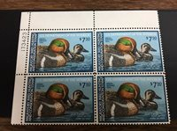 US RW46PB Of 4 Federal Duck Stamp - mint never hinged - very nice 1979 stamp