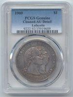 1900 Lafayette Commemorative Silver Dollar, PCGS AU Details