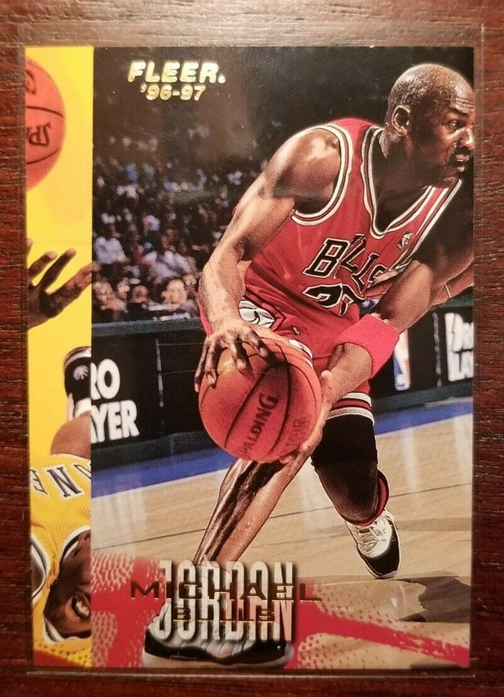Michael Jordan Fleer Misprint Error Card Very Rare Grade Psa Bgs 11 Not Rookie