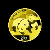 2008 1/20 oz Gold Panda Coin