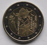SLOVENIA - 2 € commemorative euro coin 2014 - Barbara of Celje 600 UNCIRCULATED