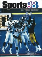 NFL Sports98 *Rare* Football Edition - Steelers/NFL greats/photos/articles/more!