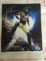 X-PAC WCW WWE WWF ECW SIGNED 8x10 PHOTO Autograph With PSA COA