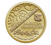 US 1 Dollar coin USA $1, American Innovation - Introductory Coin, UNC, 2018