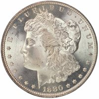 1880-S $1 Morgan Dollar PCGS MS67 CAC