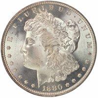1880-S $1 Morgan Dollar PCGS MS67 CAC