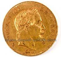 100 Francs, Napoleon III Lauré, A Paris, 1869, France