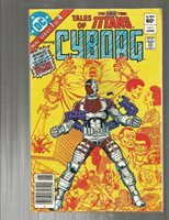 Tales of the New Teen Titans 1 ORIGIN of CYBORG!!! NEWSTAND!