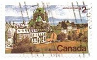 Canada #601 Used
