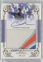 2013 Leaf Trinity Gold /10 Colin Moran #DTP-CM1 Patch Auto