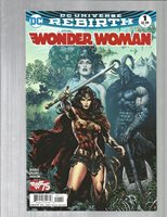Wonder Woman: Rebirth 1 EXTREME HIGH GRADE COPIES!!!