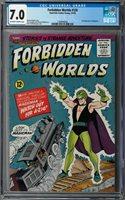 Forbidden Worlds #126 CGC 7.0 (Mar-Apr 1965, American Comics Group) Herbie app.